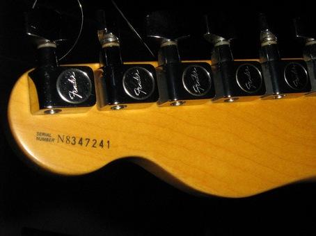 fender american standard serial number